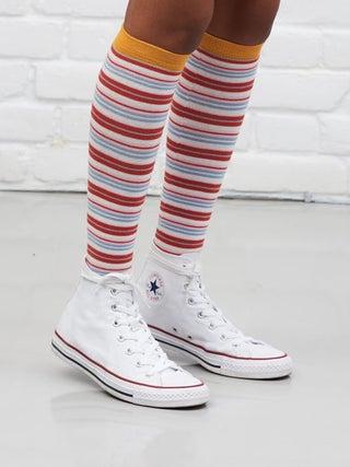 Lucy & Yak Organic Knee Socks- Chandler