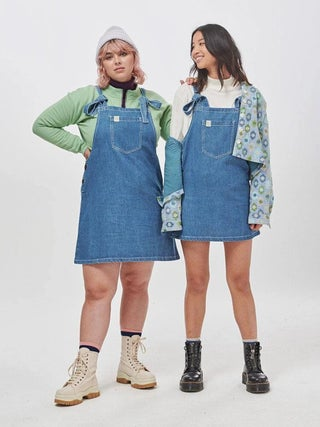 Lucy & Yak Organic Mini Pini Soft Denim Dress