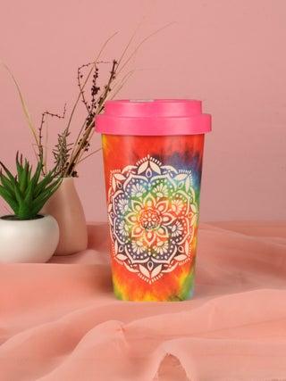 Mandala Bamboo Travel Cup