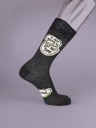 Mens Socks - Get Shit Done. Later