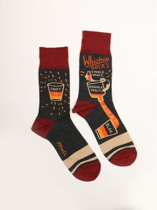 Men's Socks- Whiskey