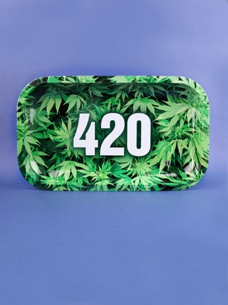 Metal Tray:Medium - 420 Green