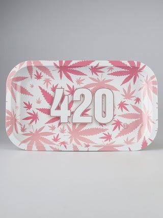 Metal Tray:Medium - 420 Pink