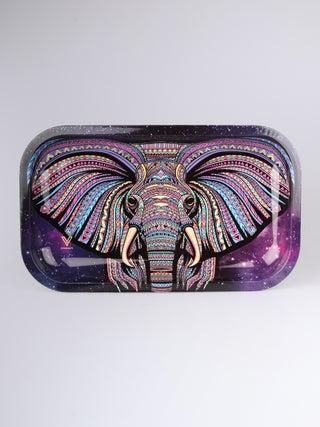 Metal Tray:Medium - Elephant