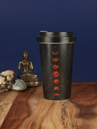 Moon Phases Bamboo Travel Cup