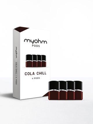 myohm Cola Chill Pod 4pc