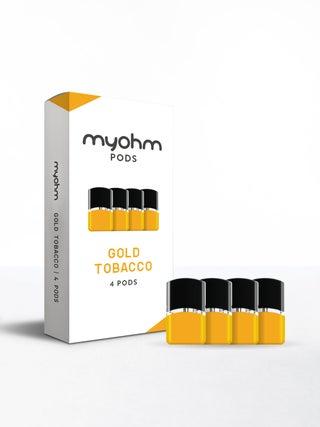 myohm Gold Tobacco 4pc