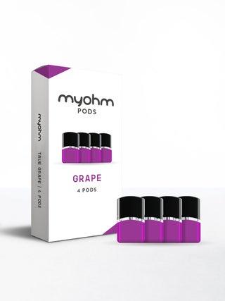 myohm Grape Pods 4pc