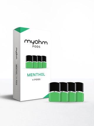 myohm Menthol Pod 4pc