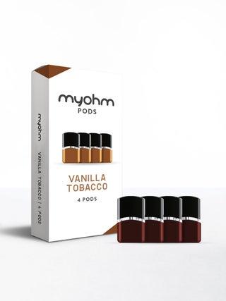 myohm Vanilla Tobacco 4pc