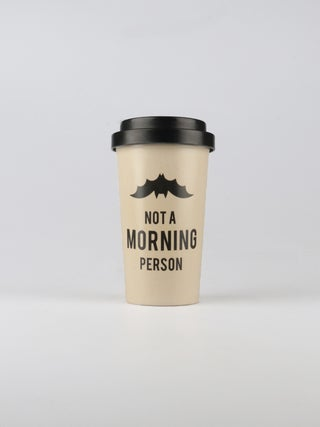 Not a morning person Bamboo Travel Cup