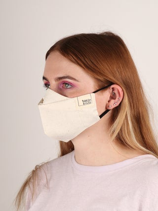 NZ Made Raw Silk Face Mask