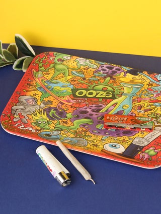 Ooze Biodegradable Rolling Tray - Medium