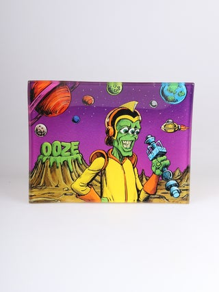 Ooze Invasion - Glass Rolling Tray