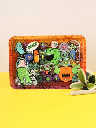 Ooze Metal Rolling Tray - Small