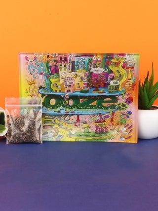 Ooze Oozeville - Glass Rolling Tray