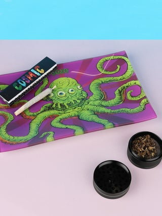 Ooze Sir Inks A Lot - Glass Rolling Tray Medium