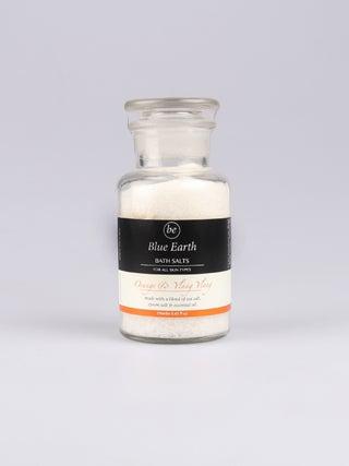 Orange & Ylang Ylang Bath Salt Jar