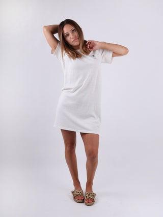 Organic Hemp Boxy Print Tee Dress