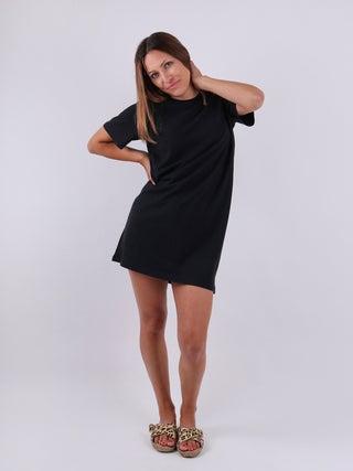 Organic Hemp Boxy Tee Dress