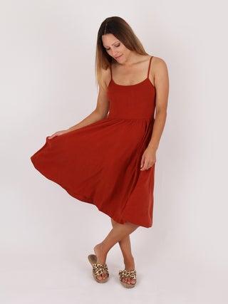Organic Hemp Long Singlet Dress
