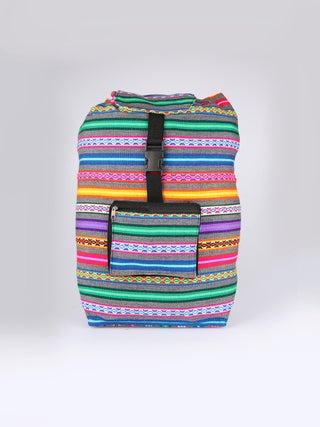 PICHINCHA Multicolour Pockets Backpack