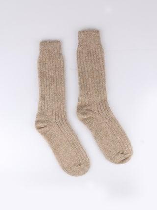 Possum Merino Rib Plain Socks