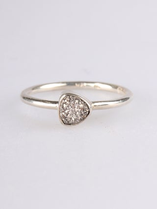 Pyrite Sterling Silver Ring