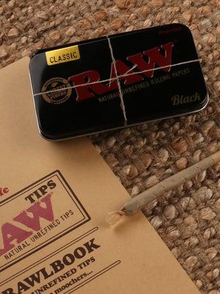 RAW Black Stash Tin