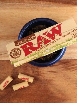 RAW Organic Hemp Papers 1 1/4
