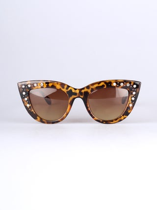 Rhinestone Cateye Sunglasses