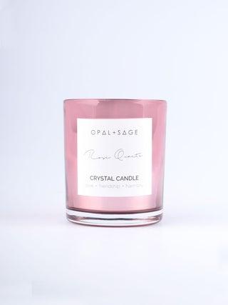 Rose Quartz Candle