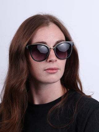 Rounded Cat Fashion Sunglasses