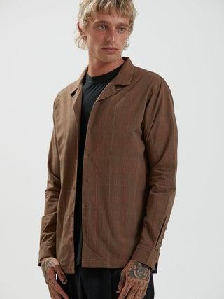 Simple Pleasures - Organic Check Long Sleeve Shirt