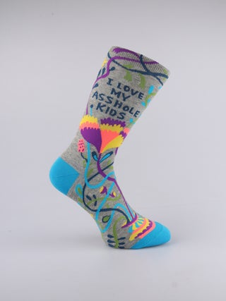 Socks- Love My Asshole Kids