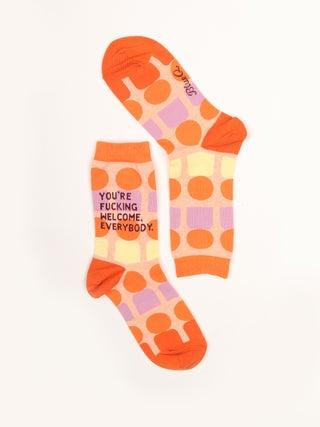 Socks - You're Fucking Welcome