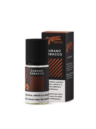 Super Salts Cubano Tobacco 10mL Nic Salts