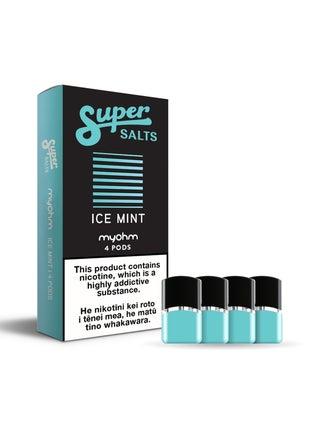 Super Salts x myohm Ice Mint 4pc