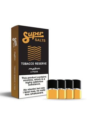 Super Salts x myohm Tobacco Reserve 4pc
