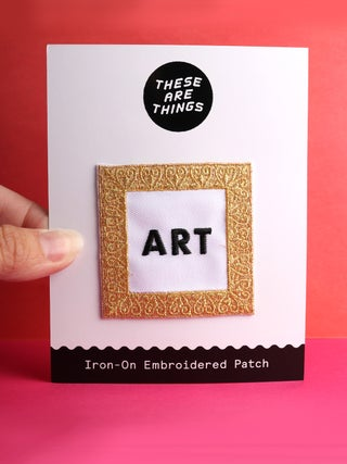 These Are Things Patch- Art