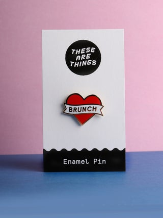 These Are Things Pin- Heart Brunch