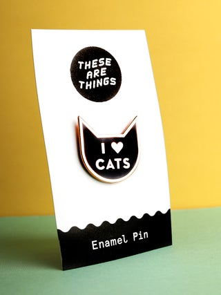 These Are Things Pin- I Heart Cats