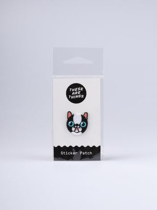 These Are Things Sticker Patch- French Bulldog