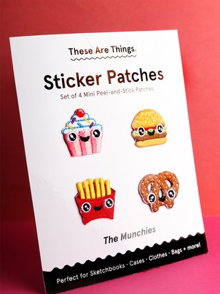 These Are Things Sticker Patch Set- Munchies
