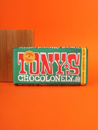 Tony's Chocolonely Milk Chocolate Hazelnut 32 % 180g