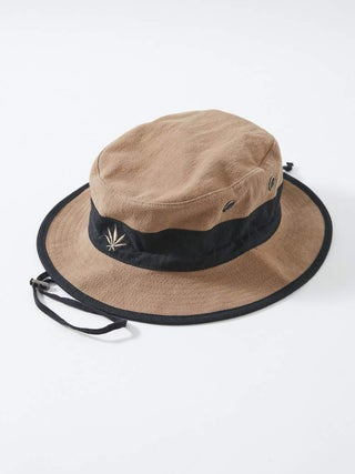 Torched Panel - Hemp Bucket Hat