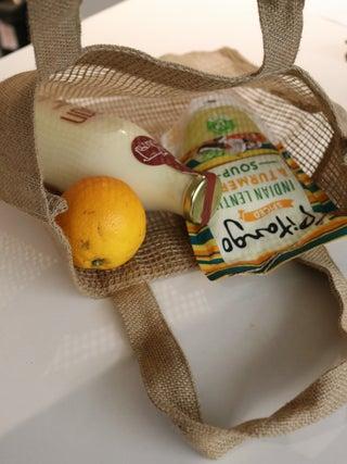 Trade Aid Medium Jute Net Bag