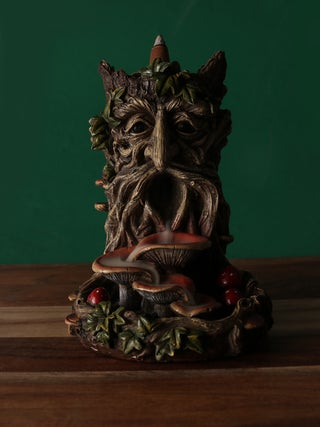 Tree Man Big Toadstool Backflow Burner