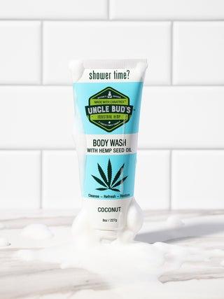 Uncle Bud's Hemp Coconut Body Wash