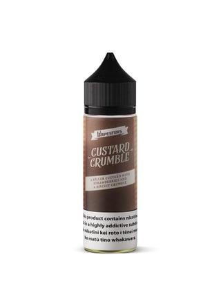 Vapesters Custard Crumble 60mL Regular/Freebase